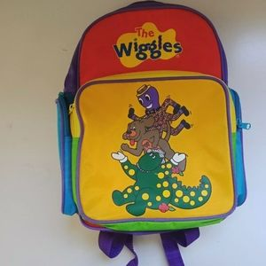 The wiggles Color Block 1998 KIDS backpack